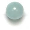 Semi-Precious 6mm Round Aqua Jade